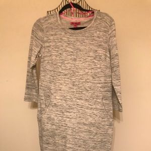 Betsey Johnson sweater dress with pockets. NWT